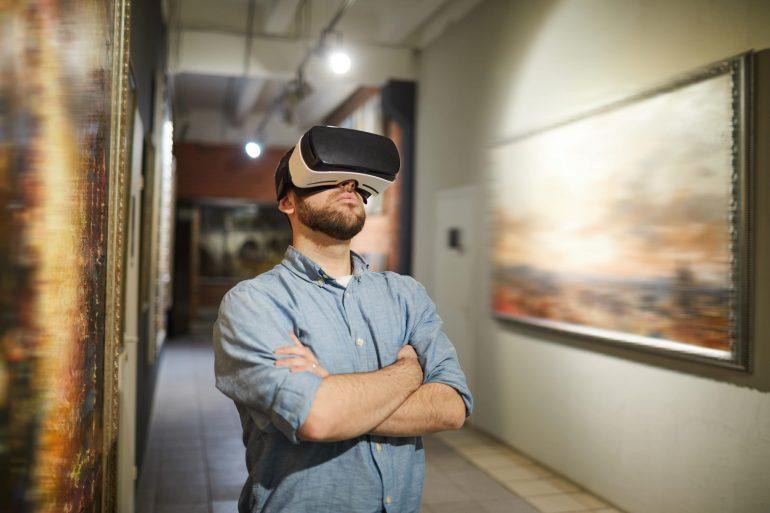 réalité virtuelle musée