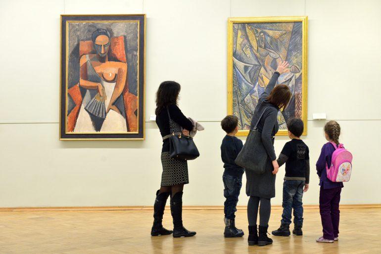 apprentissage enfant musée